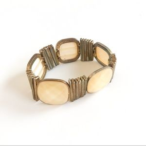 Yellow Stone Expandable Bracelet